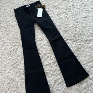 Free People Flared Stretch Jeans